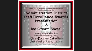 Administration at our district