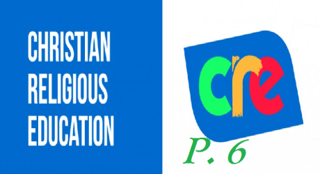 CHRISTIAN RELIGIOUS EDUCATION PRIMARY SIX 3