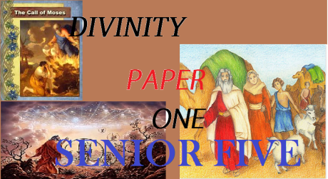 DIVINITY PAPER ONE SENIOR FIVE 18