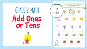 ADDITION AND SUBTRACTION OF TENS AND ONES-P.1 1