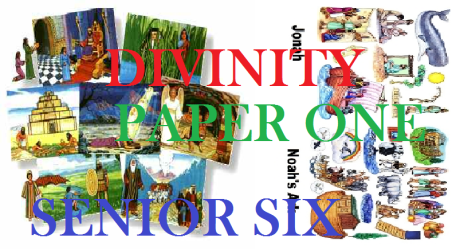 DIVINITY PAPER ONE SENIOR SIX 5