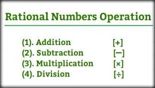 mathematics p3- operation numbers