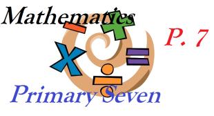 PRIMARY SEVEN MATHEMATICS 2