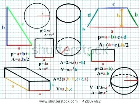 Mathematics - Formulae