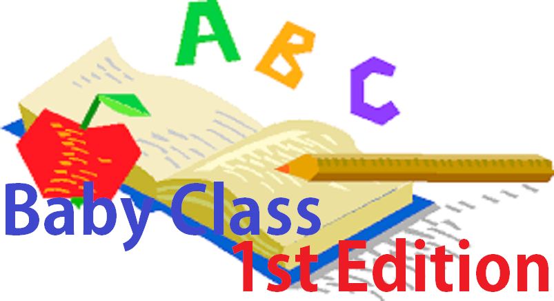 BABY CLASS READING 3 - 4 YEARS 2
