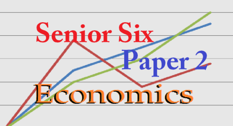 ECONOMICS PAPER TWO SENIOR SIX 11