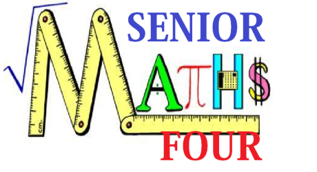 ORDINARY LEVEL MATHEMATICS SENIOR FOUR 9
