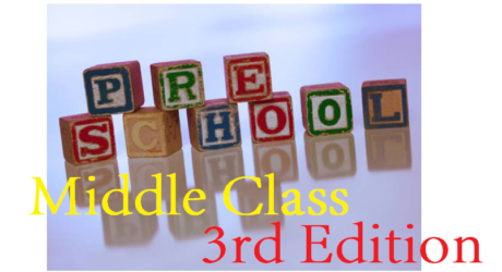 MIDDLE CLASS READING 4 - 5 YEARS THREE 5