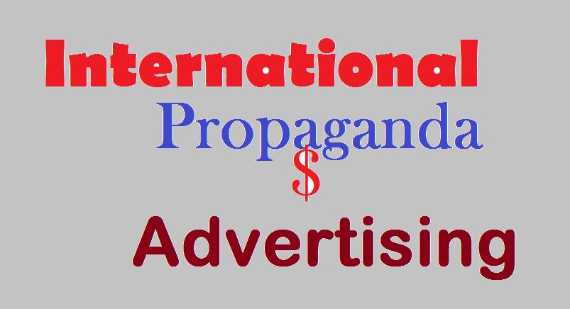 INTERNATIONAL ADVERTISING AND PROPAGANDA 2