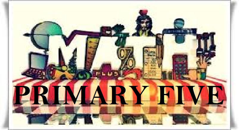 PRIMARY FIVE MATHEMATICS 2
