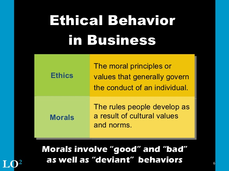 ethical behavior of business students at bayview university