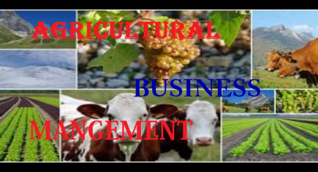 AGRICULTURAL BUSINESS MANAGEMENT 6