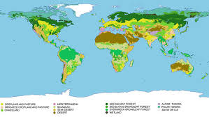 biogeographic maps