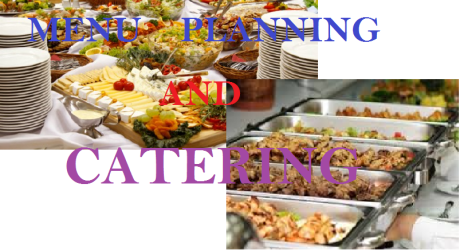 MENU PLANNING AND CATERING 15