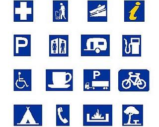 pictorial symbols