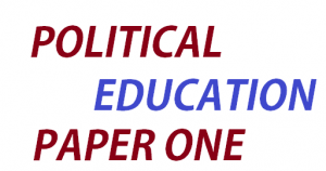 Access and Download all Lessons of Political Education Paper One 1