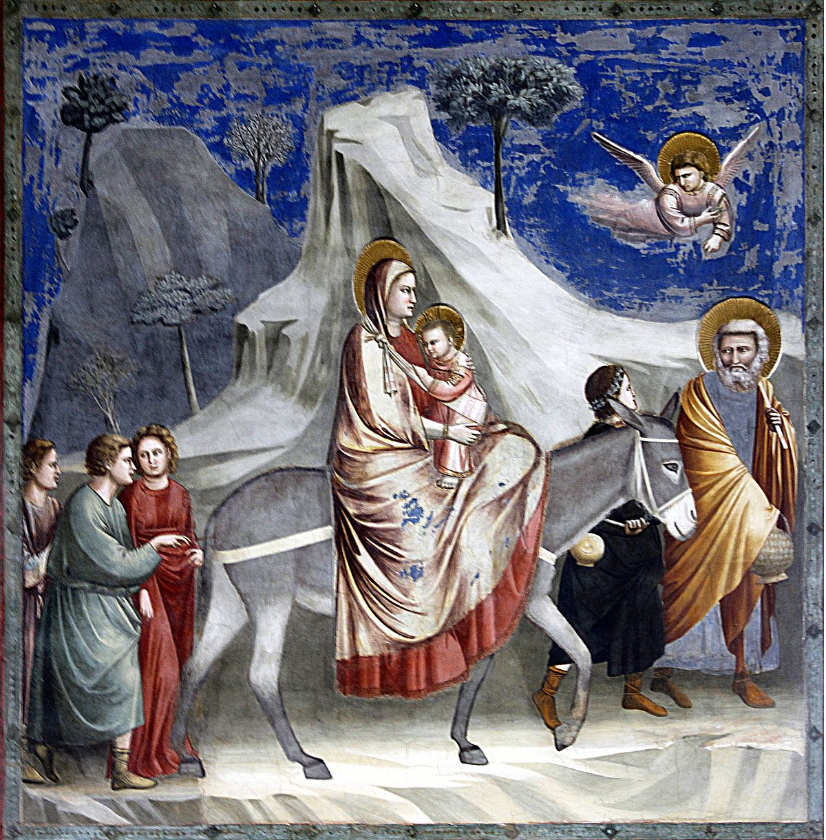 Joseph escapes to egypt