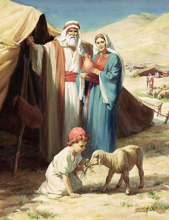 CRE4: ABRAHAM AND HIS FAMILY P.4 1