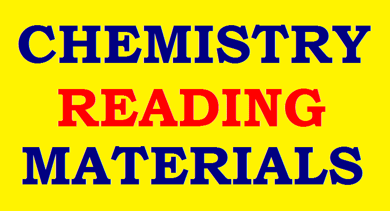 CHEMISTRY READING MATERIALS 2