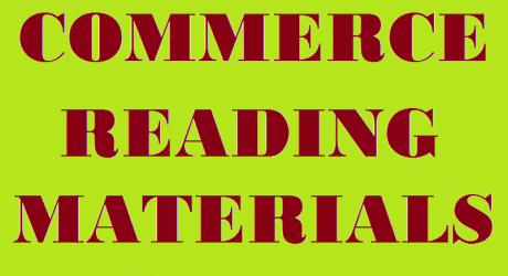COMMERCE READING MATERIALS 2