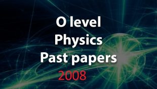 UGANDA CERTIFICATE OF EDUCATION PHYSICS PRACTICAL PAST PAPERS 2008 PAPER 3 1