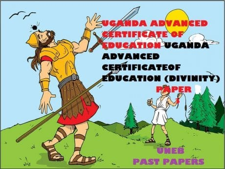 UGANDA ADVANCED CERTIFICATE OF EDUCATION CHRISTIAN RELIGIOUS EDUCATION (DIVINITY) PAST PAPERS PAPER 3 14
