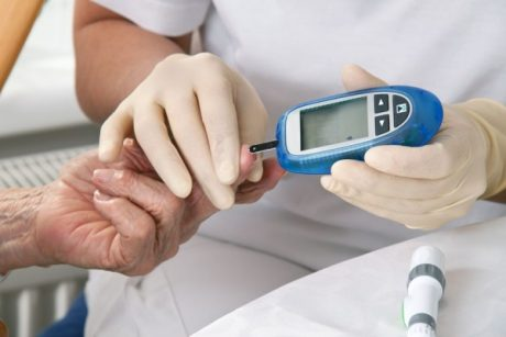 The blood glucose meter