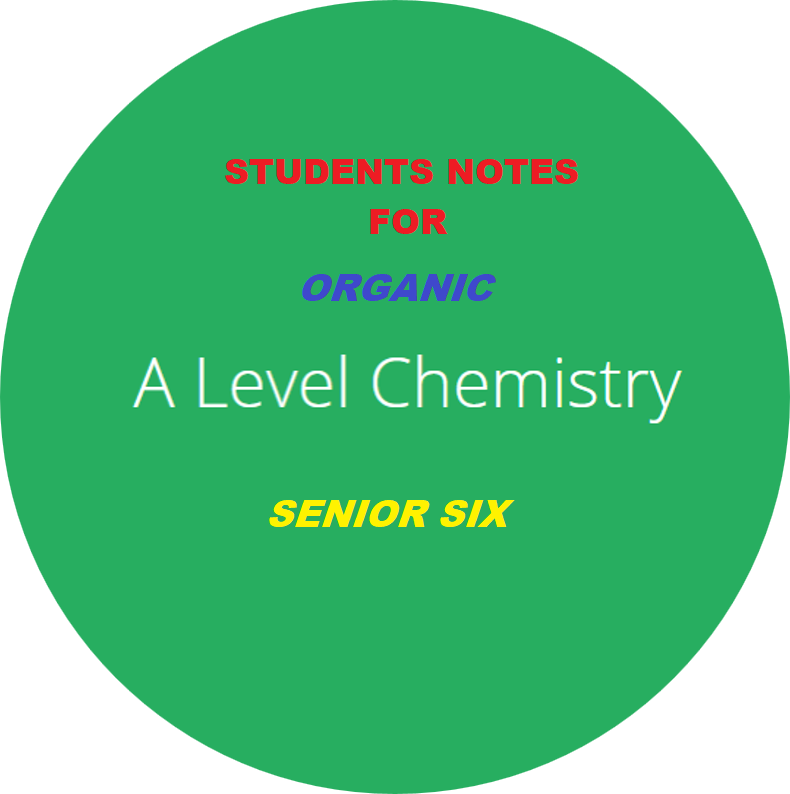 ALOCHEM6: ADVANCED LEVEL ORGANIC CHEMISTRY SENIOR SIX 2