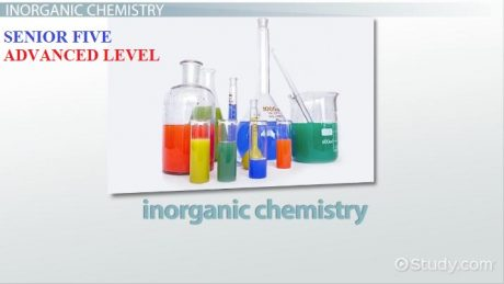 ALINOCHEM5: ADVANCED LEVEL INORGANIC CHEMISTRY SENIOR FIVE 12