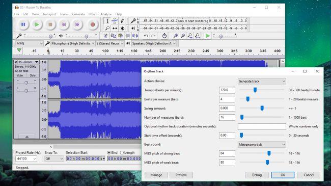DPP: Audio editing tools 1