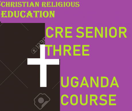 CHRISTIAN RELIGIOUS EDUCATION SENIOR THREE COURSE 7