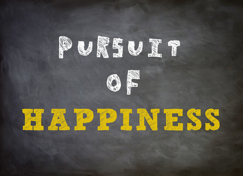 Happiness in the present situation