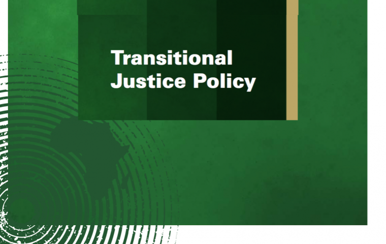 Justice in society; in the African Traditional Society