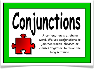 English grammar- conjunctions