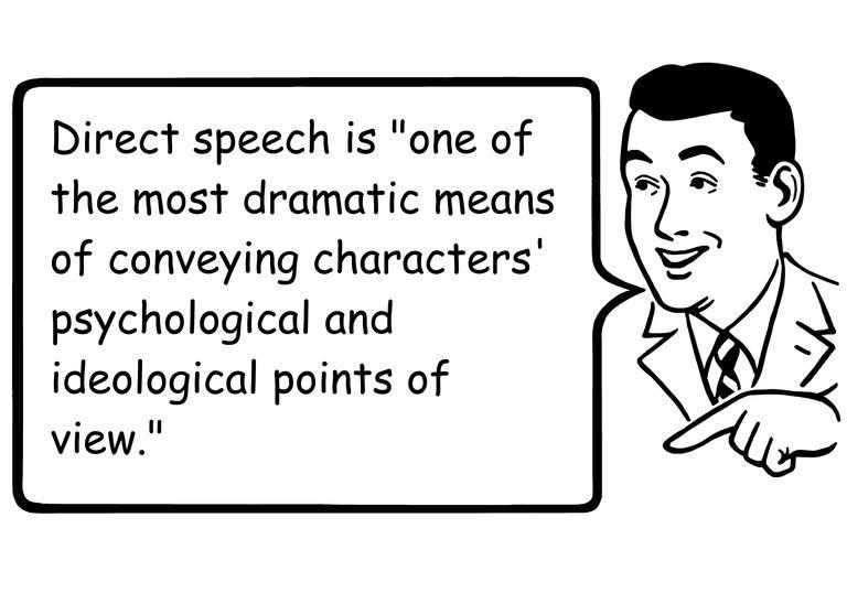 English grammar- direct speech