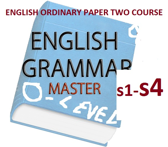 ENGLISH ORDINARY LEVEL PAPER TWO COURSE 2