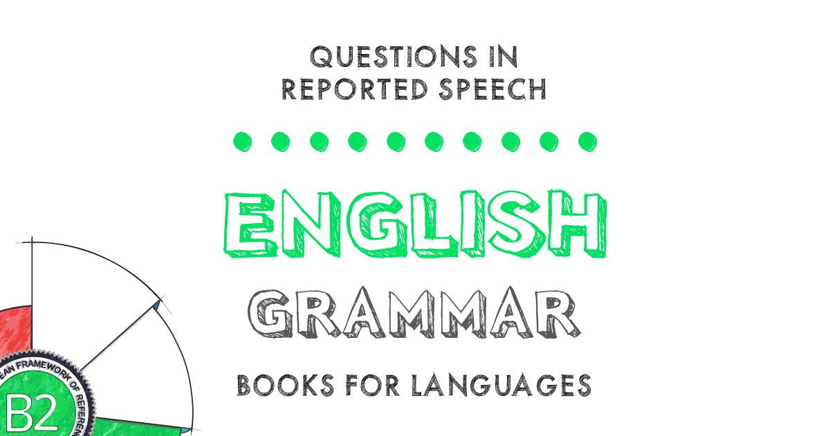 English grammar-indirect speech