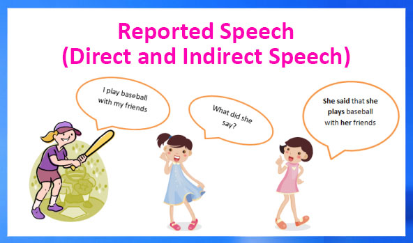 English grammar - reported speech