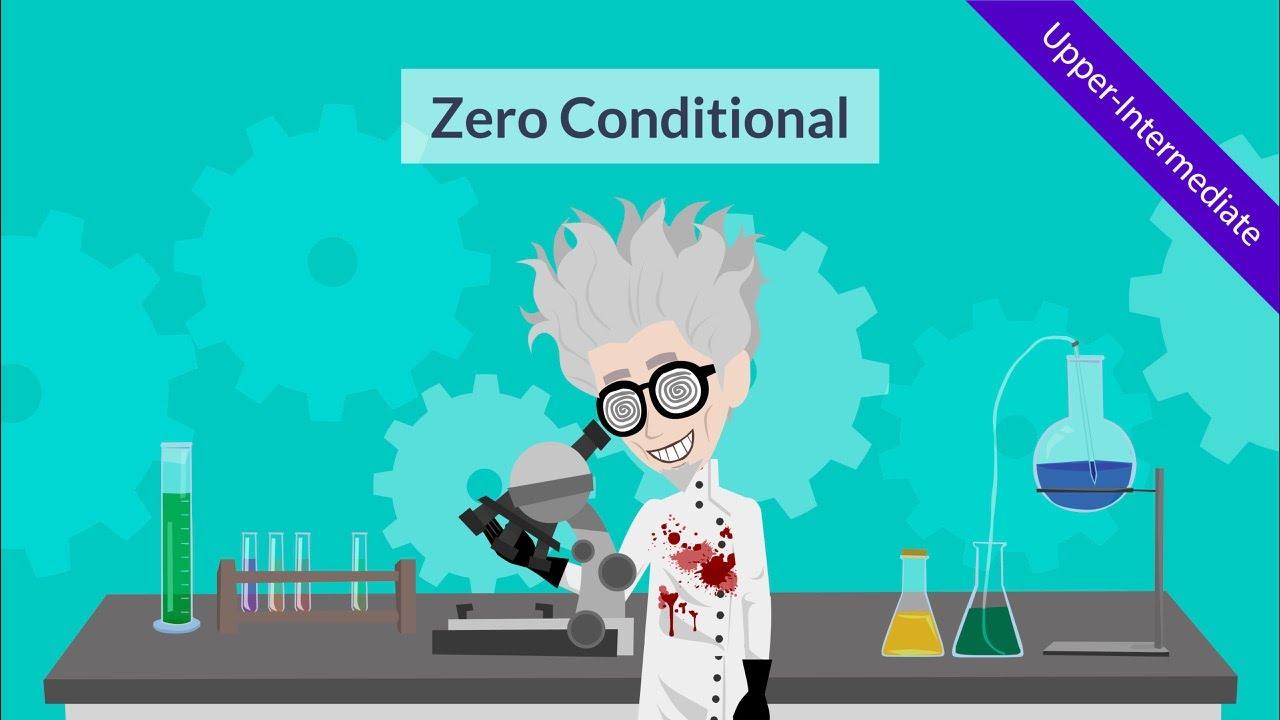 English grammar - zero conditional