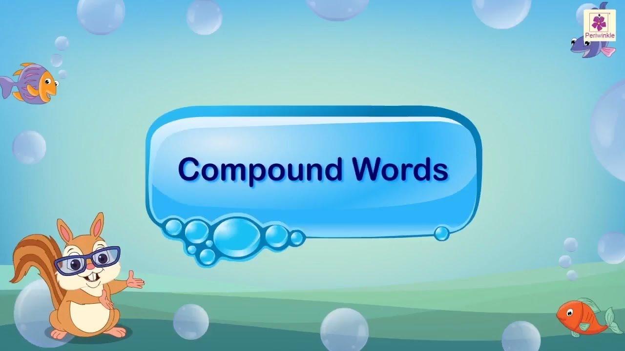 English grammar - compound words