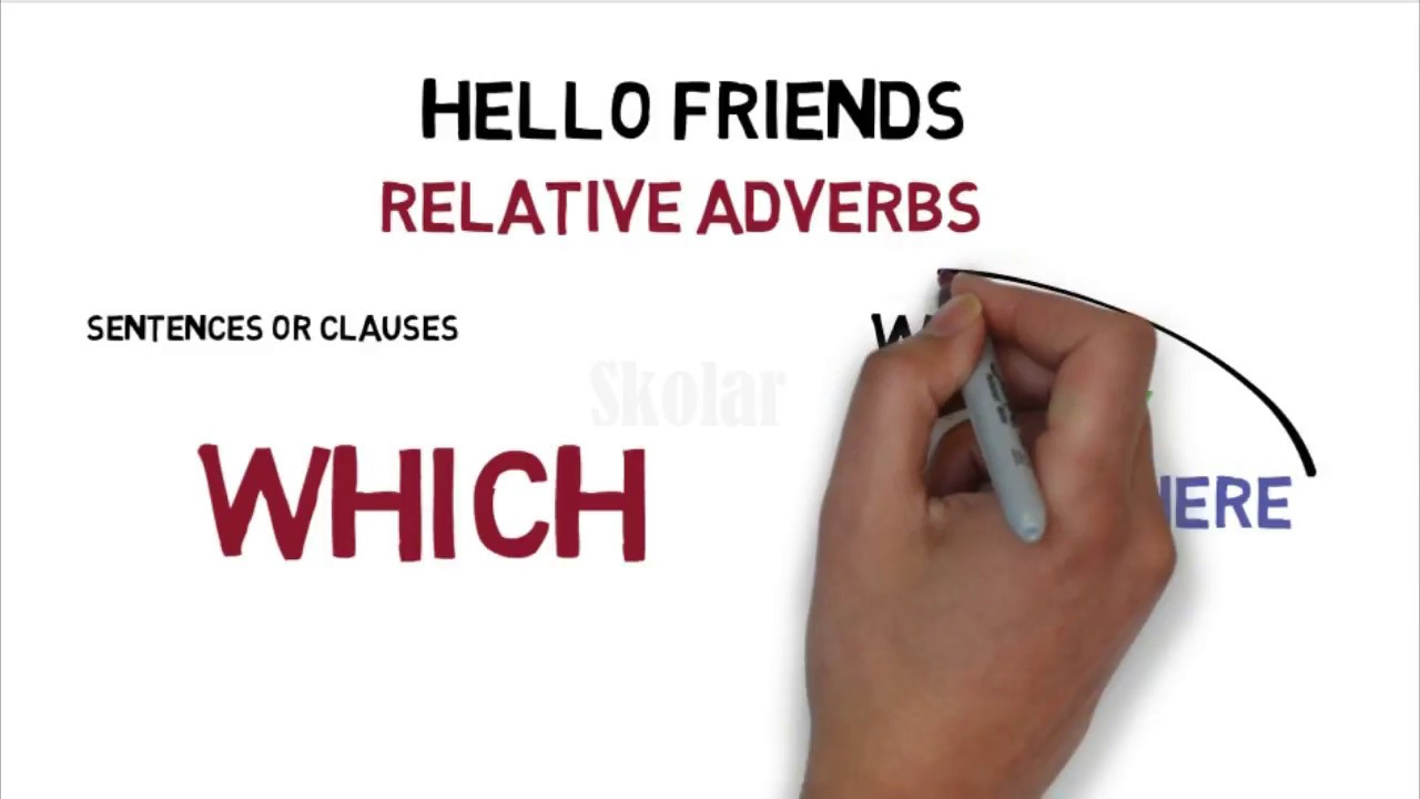 English grammar relative adverbs