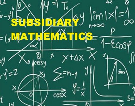 UGANDA ADVANCED CERTIFICATE OF EDUCATION SUBSIDIARY MATHEMATICS UNEB PAST PAPERS 4