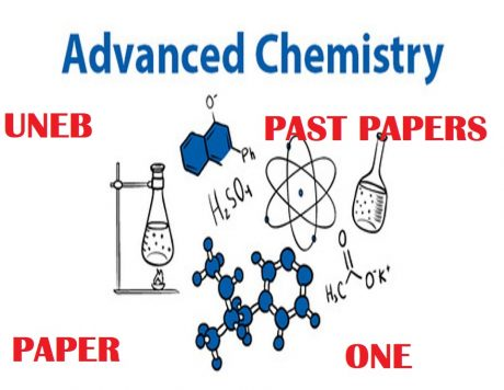 UGANDA ADVANCED CERTIFICATE OF EDUCATION CHEMISTRY UNEB PAST PAPERS PAPER 1 5