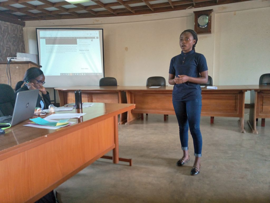 Makerere University Fourth Year Journalism Students Receive Skills In Multimedia Journalism & Digital Safety 5