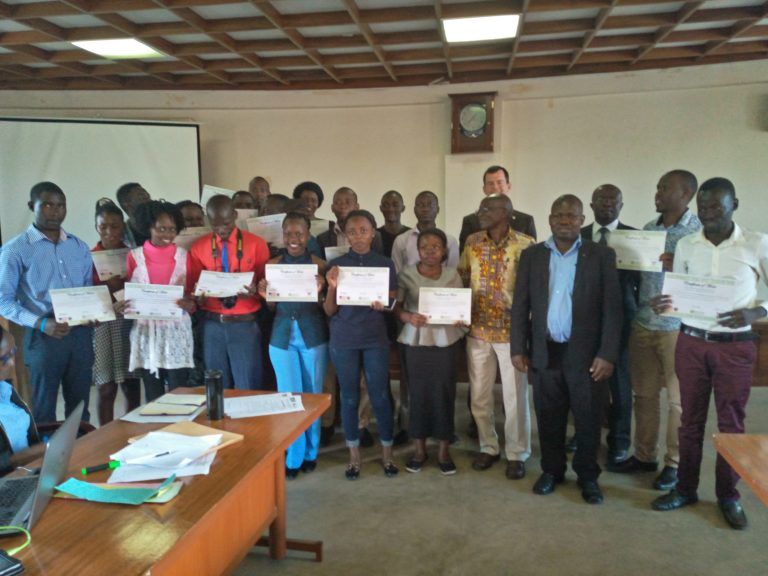 Makerere University Fourth Year Journalism Students Receive Skills In Multimedia Journalism & Digital Safety 8