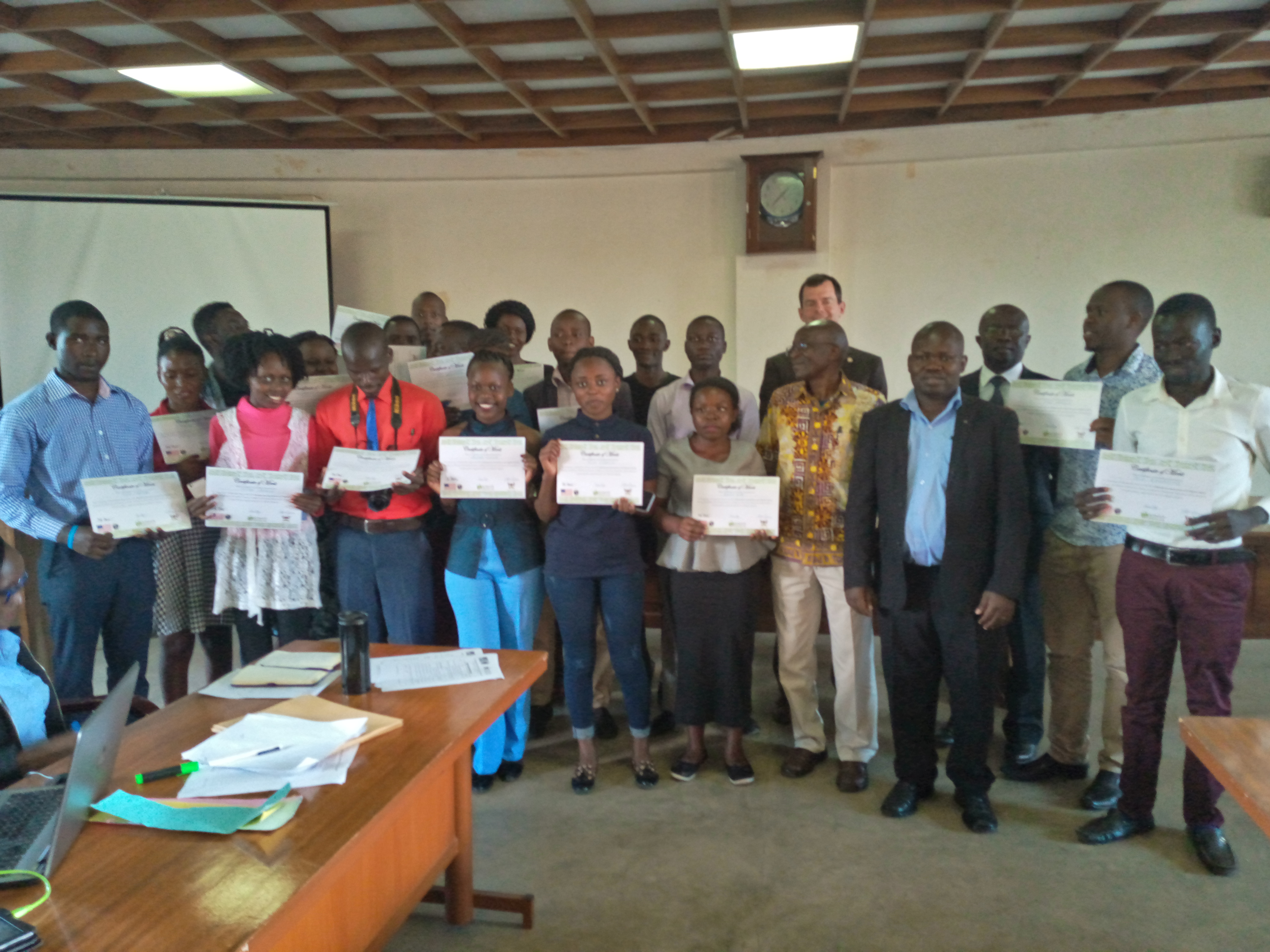 Makerere University Fourth Year Journalism Students Receive Skills In Multimedia Journalism & Digital Safety 1