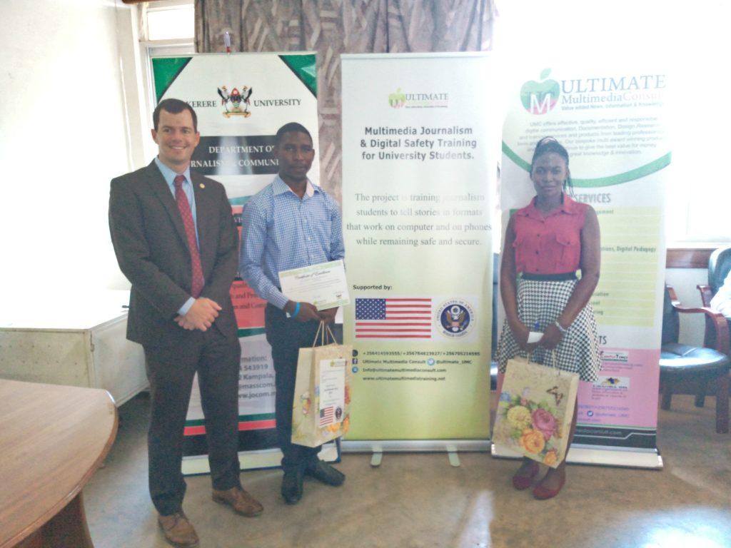 Makerere University Fourth Year Journalism Students Receive Skills In Multimedia Journalism & Digital Safety 6