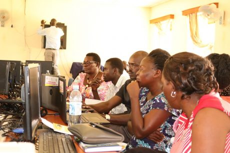 Teachers of STEM subjects learn how to use the web