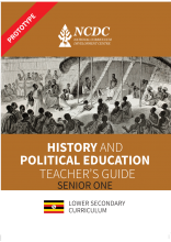 History & Political Education Teacher's Guide Book