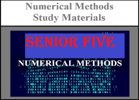 Numerical methods senior five